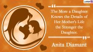 National Daughters Day 2020 Quotes and HD Images: WhatsApp Messages, Facebook Photos, Greetings and SMS to Send Wishes to Your Daughter Dearest