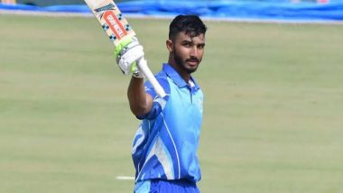 Devdutt Padikkal Becomes First Indian Batsman to Smash Four Consecutive Centuries in List-A Cricket, Netizens Hail RCB Opener's Staggering Consistency