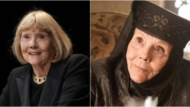 rip diana rigg netizens remember the legendary actress by sharing her iconic moments as lady olenna tyrell on game of thrones latestly rip diana rigg netizens remember the