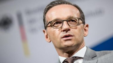 German Foreign Minister Heiko Maas Condemns Synagogue Vandalism in Berlin