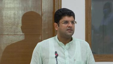 COVID-19: Haryana Deputy CM Dushyant Chautala Writes to FM Nirmala Sitharaman, Requests to Exempt Oxygen Concentrators from GST