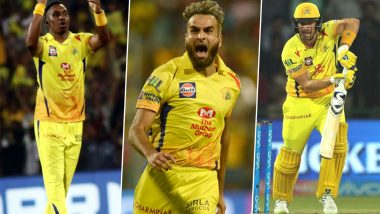 CSK Playing XI in IPL 2020: 4 Overseas Players Who Could Feature in Chennai Super Kings Line Up Throughout Dream11 Indian Premier League