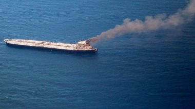 IOC's New Diamond Chartered Oil Tanker Continues to Blaze, Fire Fighting Operations on For 2nd Consecutive Day