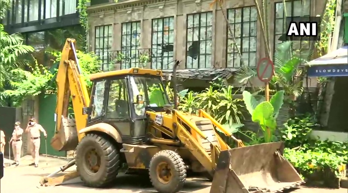 Kangana Ranaut office demolished