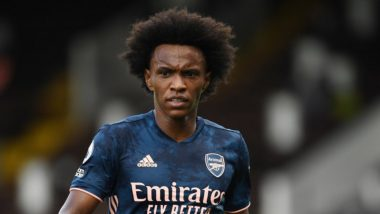 Fulham 0–3 Arsenal, Premier League 2020–21 Match Result: Gunners Claim Big Win on Opening Day As Willian Borges da Silva Impresses on Debut