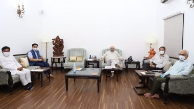 Amit Shah Meets Public Representatives of Ladakh, Discusses Issues Concerning the Union Territory