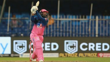 IPL 2020: Rajasthan Royals Records Highest Run Chase in Indian Premier League History, Beat Kings XI Punjab by 4 Wickets in Sharjah