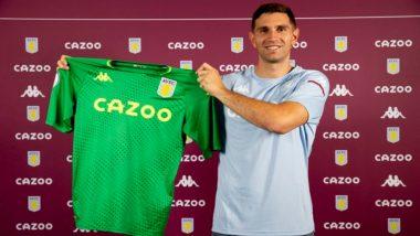 Emiliano Martinez Transfer Latest News: Aston Villa Sign Arsenal Goalkeeper for 17 Million Pounds