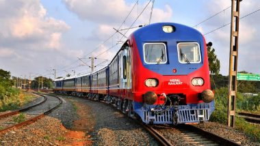 Nepal to Resume Railway Services After 7-Year Suspension As Two Sets of Rails That Kathmandu Purchased From India Arrive in Janakpur