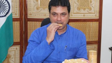 Tripura CM Biplab Kumar Deb Launches Bamboo Cookies, Honey Bottles to Boost Immunity of People