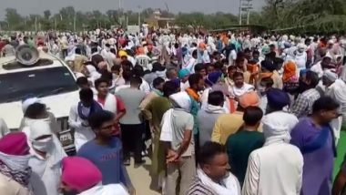 Rajya Sabha Passes Two Farm Bills: Farmers Stage Protest In Sirsa Against New Agriculture Law by Blocking Major Road Sirsa