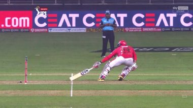 IPL 2020: Virender Sehwag Takes Jibe at Umpire for Dubious 'Short Run' Decision During DC vs KXIP Match