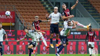 AC Milan 2-0 Bologna, Serie A 2020-21 Match Result: Zlatan Ibrahimovic Scores Twice as Milan Win Season Opener