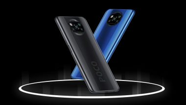 Poco X3 With Snapdragon 732G SoC Launched in India at Rs 16,999; Online Sale on September 29, 2020 via Flipkart