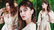 Erica Fernandes Gives a Beige Shirt Dress a Spin and It's Chic AF!