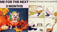 Fall 2020 Funny Memes: Express The Excitement For Halloween and Holidays With These Jokes as Your Seasons' Greetings