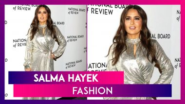 Salma Hayek Birthday Special: Bold And Beautiful Fashion Outings By This Mexican Beauty