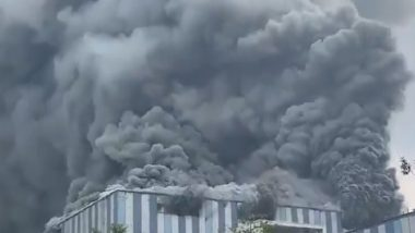 Fire in China: Huge Blaze Erupts at Under-Construction Facility of Huawei in Dongguan, 3 Killed