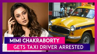 Mimi Chakraborty, Actor & TMC MP, Gets Taxi Driver Arrested For Allegedly Passing Lewd Comments