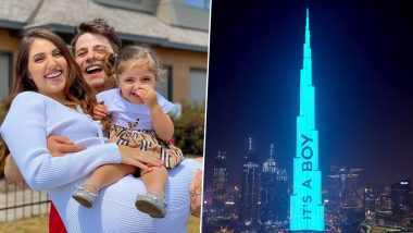 Gender Reveal on the Burj Khalifa! Dubai Couple Get Their Baby's Gender Announced on the Tallest Building in the World (Pictures & Videos)