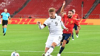 Germany 1 1 Spain Uefa Nations League 2020 21 Result And Goal Video Highlights Jose Luis Gaya Late Strike Cancels Out Timo Werner S Opener In Entertaining Draw Latestly
