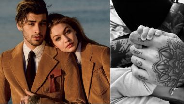Zayn Malik and Gigi Hadid Welcome Their 'Healthy and Beautiful' Baby Girl; The Singer Shares a First Glimpse With an Emotional Post (View Pic)