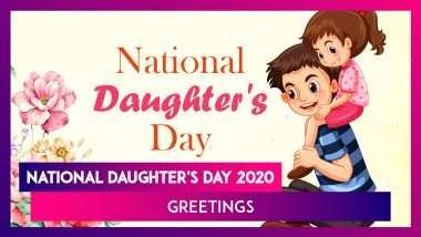 National Daughter's Day 2020 Greetings: Images & Messages to Wish Your Daughter on This Day