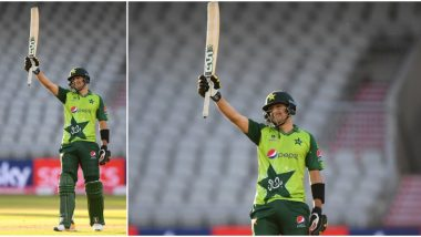 PAK vs ENG Stat Highlights 3rd T20I: Haider Ali Scores Half-Century on Debut as Pakistan Beat England by Five Runs, Series Drawn 1–1