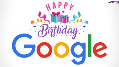 Google Turns 22! Fascinating Facts About the Internet Search Giant to Share on Its 22nd Birthday