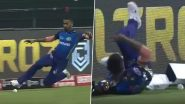 Hardik Pandya Lashes Out at Jasprit Bumrah for Not Diving to Stop the Ball During KKR vs MI Match in Dream11 IPL 2020 (Watch Video)