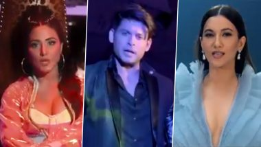 Bigg Boss 14: Mentors Hina Khan, Sidharth Shukla and Gauahar Khan Are All Set To Take The Contestants On A Hell Of A Ride (Watch Promos)