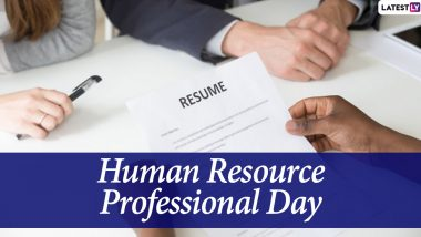 Human Resources Professional Day 2020 Images And HD Wallpapers For Free Download Online: WhatsApp Stickers, Facebook Greetings And Messages to Send HR Managers