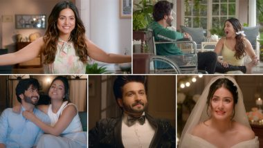 Humko Tum Mil Gaye Music Video: Hina Khan and Dheeraj Dhoopar's Emotional Track Is All About Overcoming Difficulties With Love (Watch Video)