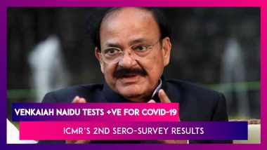 Venkaiah Naidu Tests Positive For COVID-19, Is Asymptomatic; 7.1% Of Adults Exposed To Covid By August, Up From 0.73% By May, Reveals ICMR's Second Sero-Survey Results