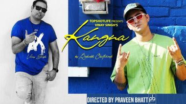 Vinay Singh of TopShotLife Next Release 'KANGNA' by the Voice and Indian Idol Fame – Rishabh Chaturvedi