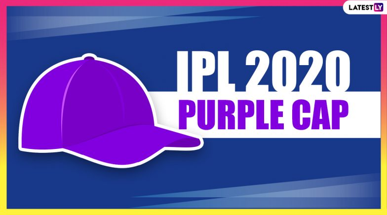 IPL 2020 Purple Cap Holder List: Check Updated IPL Leaderboard of Leading Wicket-Takers
