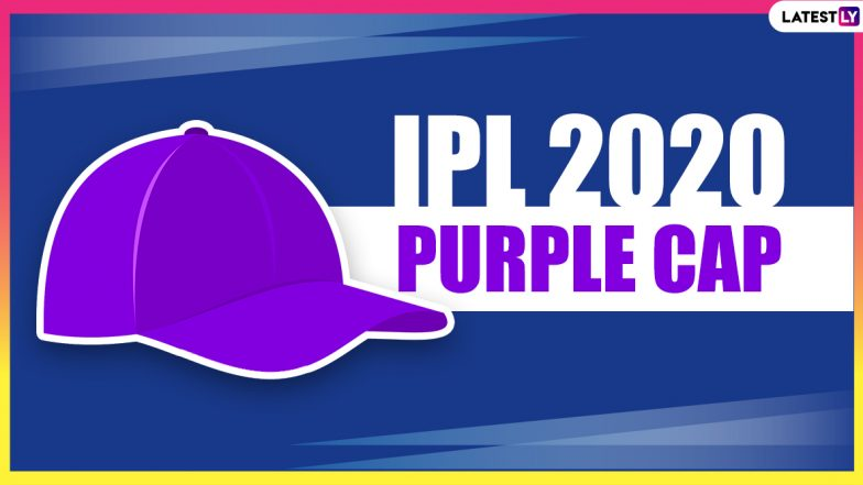 IPL 2020 Purple Cap Holder Bowler With Most Wickets: Winners' Table and Updated List of Leading Wicket-Takers in Dream11 Indian Premier League Season 13 in UAE
