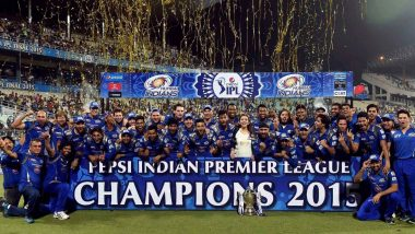 IPL Winners List: A Look at All the Previous Champions of Indian Premier League Ahead of 2020 Edition