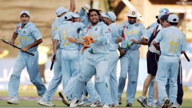 India vs Pakistan 2007 T20 World Cup Final Recap: On This Day 13 Years Ago MS Dhoni-Led Indian Cricket Team Won the Memorable Title