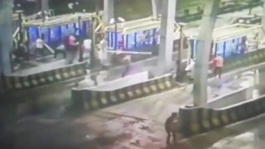 Toll Plaza on Indore-Ahmedabad Highway Vandalised in Betma Area, Shows Video; Policeman Blames 'Angry Farmers'