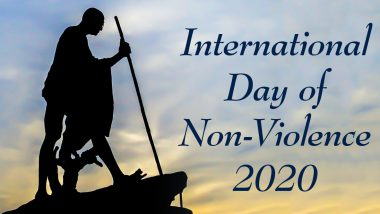 International Day of Non-Violence 2020 Date And Significance: Know The History of the Day That Promotes Peace & Honours Mahatma Gandhi's Birth Anniversary