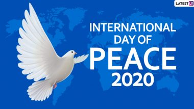 International Day of Peace 2020 Date And Theme: Know The History And Significance of the Observance That Promotes World Peace