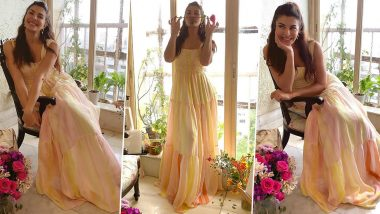 Jacqueline Fernandez Looks Dreamy Chic in This Newest Photoshoot, Her Hand Painted Dress Is on Our Lust List!