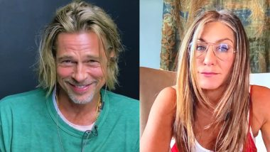 Brad Pitt and Jennifer Aniston Reunite For Fast Times At Ridgemont High Virtual Table Read and Re-Enact a Steamy Scene That Leaves Netizens Blushing! (Watch Videos)