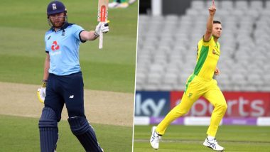 England vs Australia 2nd ODI 2020: Jonny Bairstow vs Josh Hazlewood and Other Exciting Mini Battles to Watch Out in Manchester