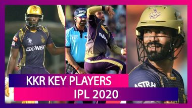 Tom Banton, Andre Russell, Sunil Narine and Other Key Players for Team KKR in IPL 2020