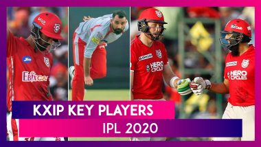 KL Rahul, Mohammed Shami, Glenn Maxwell and Other Key Players for Team KXIP in IPL 2020