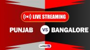 KXIP vs RCB, IPL 2020 Live Cricket Streaming: Watch Free Telecast of Kings XI Punjab vs Royal Challengers Bangalore on Star Sports and Disney+Hotstar Online
