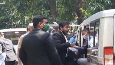 Sushant Singh Rajput Death Case: Verbal Spat Erupts Between Kaizen Ibrahim's Lawyer And NCB Team Outside Mumbai Court, Watch Video