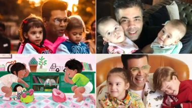 After An Autobiography, Karan Johar Writes A Children's Book The Big Thoughts Of Little Luv Inspired By His Kids Yash And Roohi (Watch Video)